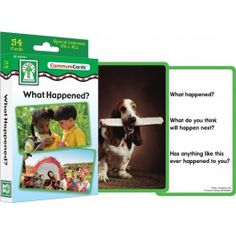 ConversaCards - What Happened? $6.99