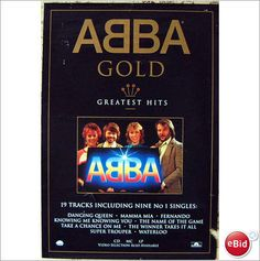 ABBA - ABBA Poster ABBA Gold UK ex shop display promo poster Take A Chance On Me