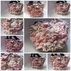 bag crochet freeform 3D