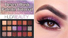 ✨Desert Dusk palette tutorial - Huda Beauty - YouTube