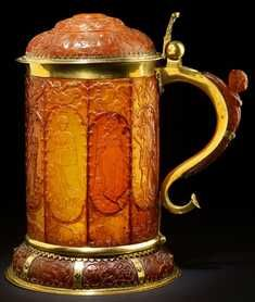 Amber tankard