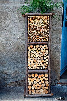 Winter wood storage