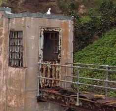rusted prisoner walkway, Alcatraz
