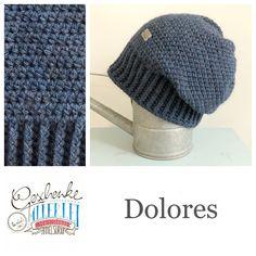 Tunella's Geschenkeallerlei präsentiert: das ist Dolores, eine geniale gehäkelte Haube/Mütze aus einer Alpaka/Wolle/Acryl-Mischung - du kannst dich warm anziehen, dank sorgfältigem Entwurf, liebevoller Handarbeit und deinem fantastischen Geschmack wirst du umwerfend aussehen #TunellasGeschenkeallerlei #Häkelei #drumherum #Beanie #Pudelhaube #Haube #Mütze #Alpaka #Wolle #Dolores