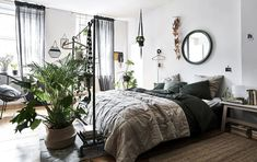 Awesome Organization Hacks That Will Transform Your Bedroom, IKEA hacks are popular not just in the usa, but all over the world. IKEA bathroom hacks are a really good means to transform the appearance of your ou. White Wall Bedroom, Bedroom Setup, Ikea Bedroom, Home Decor Bedroom, White Walls, Living Room Decor, Bedroom Ideas, Bedroom Hacks, Decor Inspiration