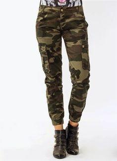 Model Celana Army Untuk Cewek/Wanita Terbaru 2016/2017