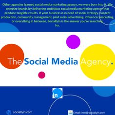 Social Media Agency - The Best Marketing & Advertising Solutions Social Media Marketing Agency, Social Advertising, Influencer Marketing, Competitor Analysis, Community Manager, Get Started, The Help, Searching, Management