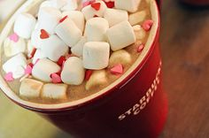 Starbucks Valentine coffee