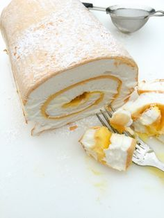 Another family favorite. Soft meringue and rich custard in a roll. Melt-in-your-mouth heavenly goodness | www.pastryportal.com