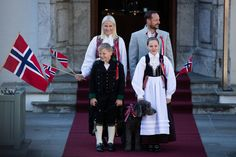 Royals & Fashion - The royal family participated in parades in honor of the Norwegian national day. The royal family attended a parade Skaugum first and then the royal palace with King Harald and Queen Sonja.