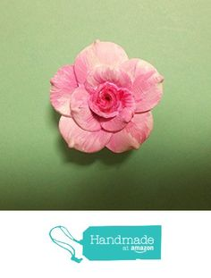 Handmade & Hand Painted Large PASTEL PINK ROSE BROOCH Wedding Corsage Love Token Remembrance Lapel Flower Brooch- By Artist Kerry Williams from Kerry's Works Of Art https://www.amazon.co.uk/dp/B01MR5IKHX/ref=hnd_sw_r_pi_dp_fj9HybPHC8KMJ #handmadeatamazon