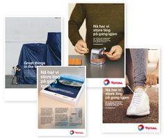 Total har store ting på gang Campaign, Store, Larger, Shop