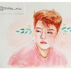 Reposting @sharingg.art: Follow this incredible artist!!! @cristine_miu #sharingart#watercolor #portrait#art#artistic#arts_help#art_help#young_artists_help#blvart#nawden#illustratenow#art4small#ladyterezie#art_4share#mcyarts#l4l#f4f#realism#portrait#drawing#art##pencil#creative#f4fart#fanart#original#korean#kpop#beauty