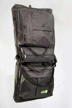 A garment bag for a bike rack