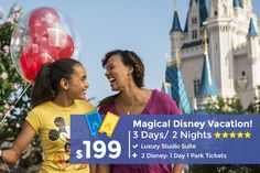 Plan the ultimate vacation at Walt Disney World Resort in Orlando with our incredible discounted packages and resort stays. Book discounted tickets and reserve your dream trip today! Orlando Vacation, Vacation Deals, Vacation Trips, Orlando Disney, Orlando Florida, Travel Deals, Travel Hacks, Travel Essentials, Budget Travel
