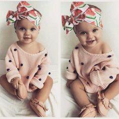 Outfits para Bebes, los amarás! Super pañuelo