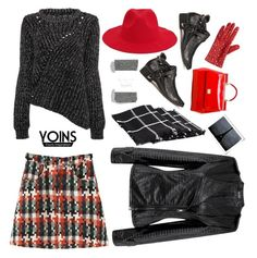 """Red & Black'"" by dianefantasy ❤ liked on Polyvore featuring maurices, Dolce&Gabbana, Portolano, fashionset, polyvoreeditorial and yoins"
