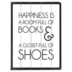 Found it at Wayfair - Happiness Wall Art That sounds like perfection . Put it in the Madi-room.