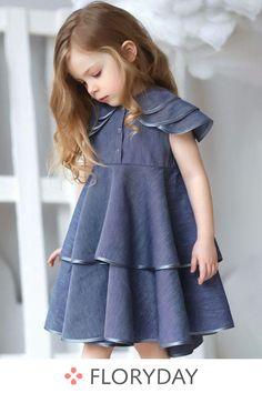 Baby Girl Party Dresses, Little Girl Outfits, Cute Outfits For Kids, Little Girl Fashion, Little Girl Dresses, Kids Fashion, Kids Dress Wear, Baby Girl Dress Patterns, Baby Girl Pants