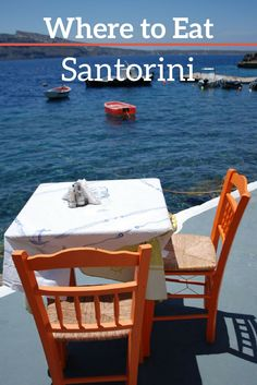 Wondering where to eat on Santorini? Here's a rundown of some of the best places to go…