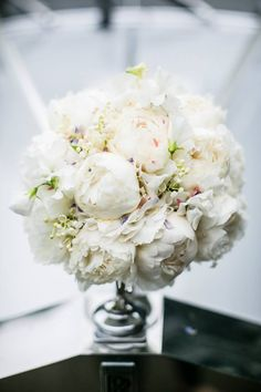 Peonies, hydrangea and Lilly of the valley