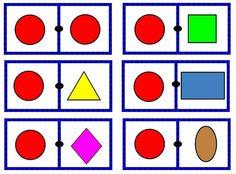 Dominó figuras geometricas