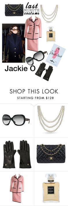 """""""Jackie O"""" by blumbeeno ❤ liked on Polyvore featuring Ray-Ban, Bling Jewelry and Chanel"""