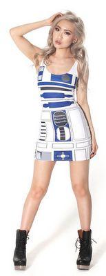 Vestido de R2D2 | La Guarida Geek