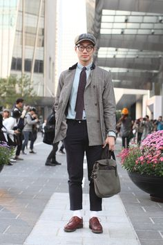 Seoul Fashion Week: Street Style (фото 4)
