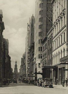 York St,Sydney in the 1930s.Photo from State Library of NSW.A♥W