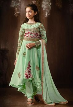 https://www.gravity-fashion.com/green-up-and-down-style-girls-evening-party-wear-anarkali-frock-c17118.html