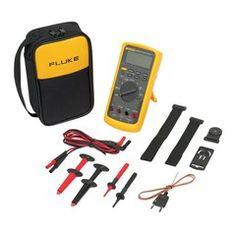 Multímetro Digital Fluke 87V/E2 Combo Kit Industrial para eletricistas
