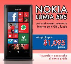 Nokia lumia 505 a $1095