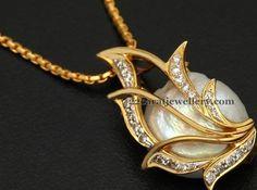 White Coral Pendant | Jewellery Designs