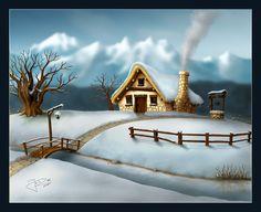 4 Seasons - Winter by geci.deviantart.com on @deviantART