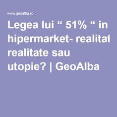 """Legea lui """" """" in hipermarket- realitate sau utopie? Blog, Blogging"""