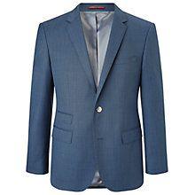 Buy HUGO by Hugo Boss C-Sweet1 Diagonal Twill Regiular Fit Blazer, Medium Blue Online at johnlewis.com