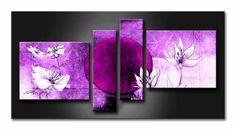 MF_019 / Cuadro luna violeta