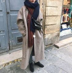 Look at this Cool work korean fashion Fall Fashion Outfits, Mode Outfits, Fall Winter Outfits, Autumn Winter Fashion, Love Fashion, Korean Fashion, Womens Fashion, Fashion Design, Minimalist Fashion Women