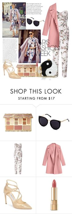 """Pack and go: paris fashion week"" by nindunia on Polyvore featuring Sephora Collection, Miss Selfridge, Jimmy Choo, Dolce&Gabbana, Gucci, ootd, parisfashionweek, Packandgo and womenoutfit"