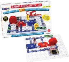 This is one amazing geek toy from Elenco. The Electronic Snap Circuits Jr Kit toy is one excellent introduction to release the geek inside your child. Gifts For Boys, Toys For Boys, Kids Toys, Children's Toys, Girls Presents, 3 Boys, Teen Boys, Baby Toys, Educational Toys For Kids