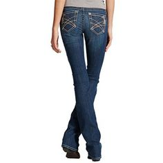 Ariat Women's Turquoise River Boot Cut Jeans