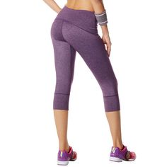 Love these berry leggings!    Get 10% OFF  with my code:KStar   Comes in Gray, Pink and Black too!!!   So Bootyful Capri | Zumba Fitness Shop www.Zumba.com