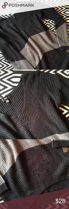 Mossimo black and gray tunic sweater NWT. Mossimo black and gray tunic sweater. Size small. 100% acrylic. Mossimo Tops Tunics