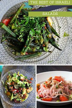 Nothing signifies summer in Israel like dining al fresco with a summer salad. In fact, salads are a way of life in Israel. When it's hot outside, sometimes all you want is something light; a plate with a layers of vegetables – side by side – flavors complementing each other, the bounty of the season on your plate. Keren Brown seeks out the top salads of the summer.