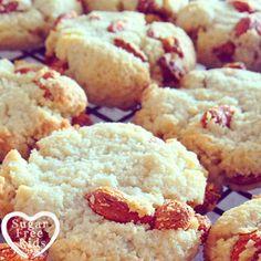 Goji and Grapefruit Amaretti Biscuit recipe Sugar Free