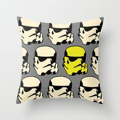 Yoda throw pillow cover - Star Wars pillow - christmas gift ideas ...