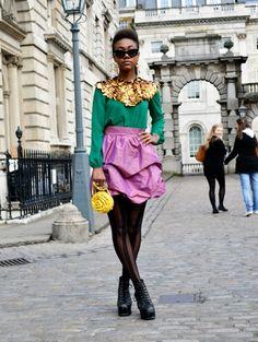 !!!!!!! London Street Style @ ELLE