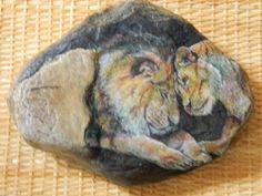 Když+lev+zahoří+láskou+...+Dekorativní+kámen+o+rozměrech+cca+18+x+14+cm,+o+hmotnosti+cca+1,2+kg+s+vyobrazeným+zvířecím+motivem+lva+a+jeho+životní+partnerky+lvice.+Námět+symbolizuje+lásku,+pokoru,+něhu,+věrnost+...+všechno+to,+co+bychom+si+ze+srdce+přáli+všichni+opravdově+prožít+...