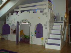 New custom princess bella 2 castle bed/loft/bunk dream